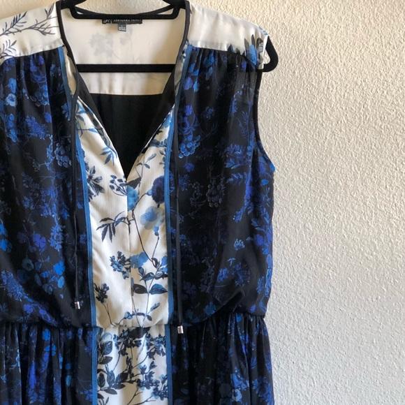 Adrianna Papell Dresses & Skirts - Adrianna Papell Cobalt Floral Flowy Dress